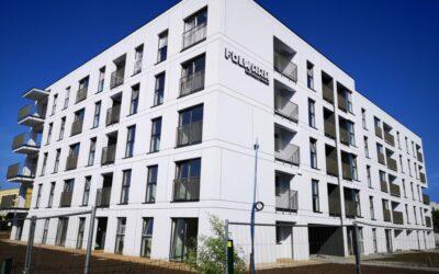 Budowa budynku mieszkalnego wielorodzinnego przy ul. Przybory dobiega końca