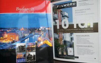 Folwark Deweloper w albumie z okazji 670-lecia Bydgoszczy