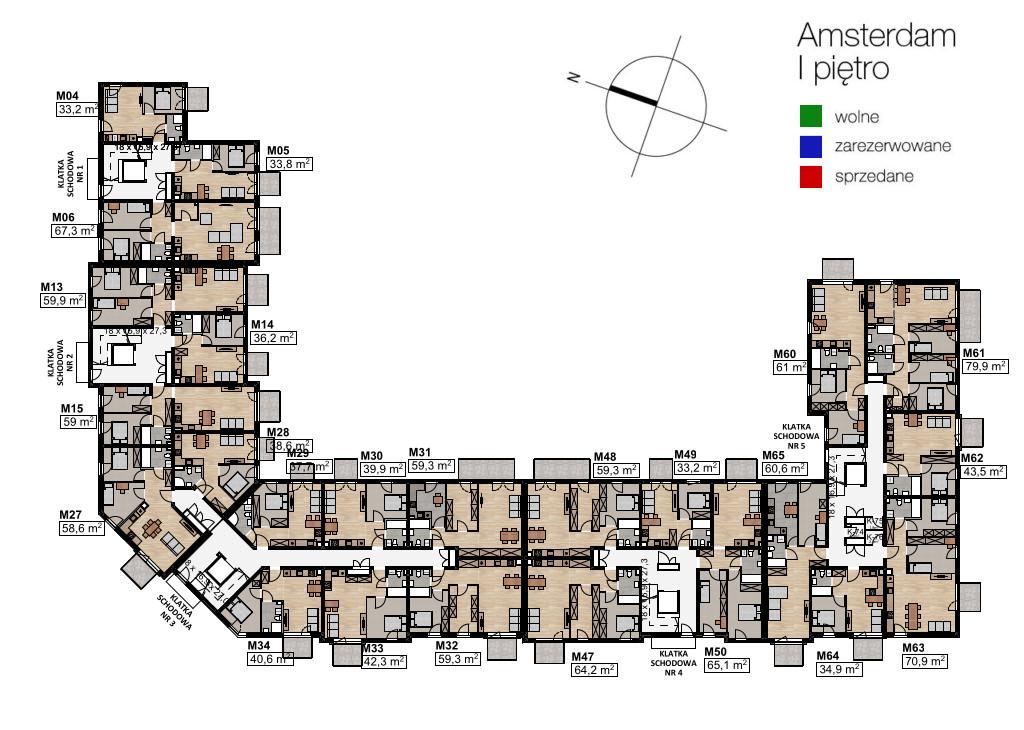1 piętro – Mały Amsterdam