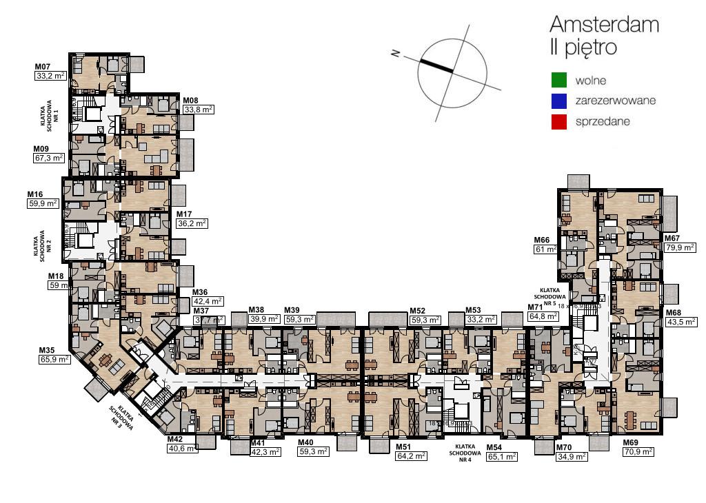 2 piętro – Mały Amsterdam