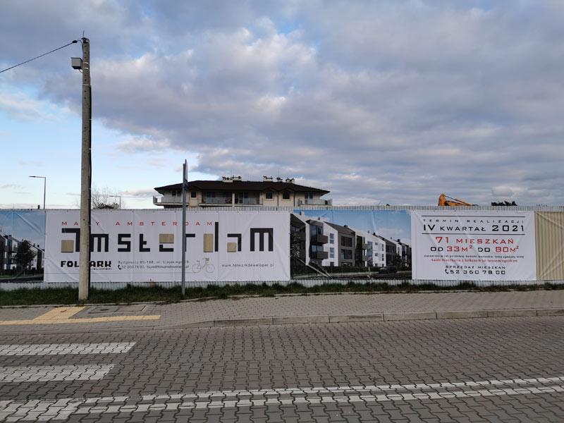 Firmy budowlane z całej Polski rozpoczęły budowę Małego Amsterdamu w Czyżkówku